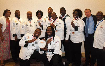 Bahamas Culinary Team