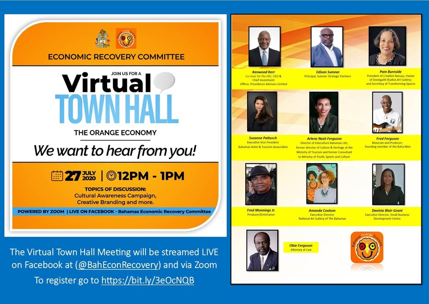 Orange Committee-Virtual Town Hall Meeting